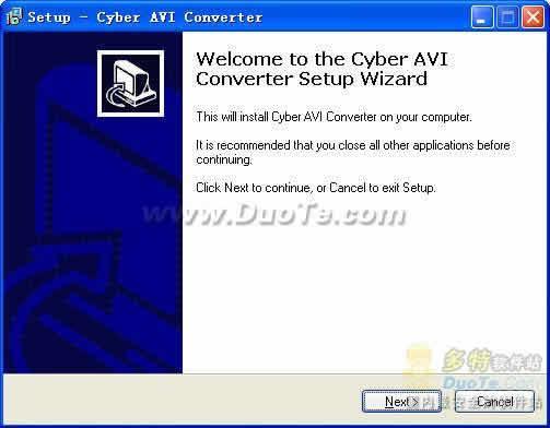 Cyber AVI Converter下载