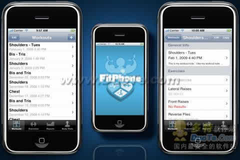 Fit Phone 健康锻炼软件下载