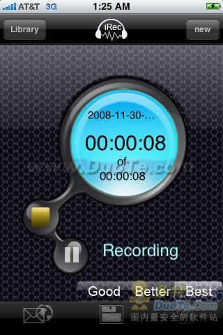 iRec Voice Recorder 录音机下载