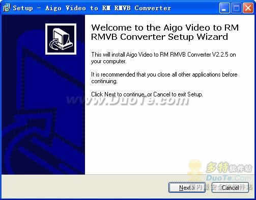 Aigo Video to RM/RMVB Converter下载
