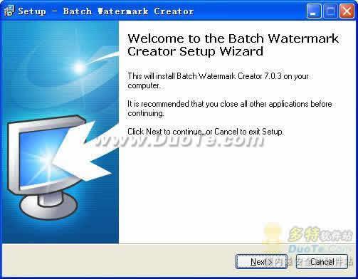 Batch Watermark Creator下载
