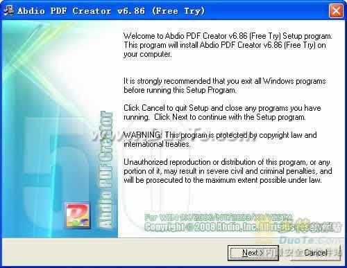 Abdio PDF Creator下载