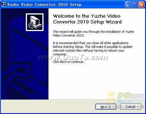 Yuzhe Video Converter 2010下载