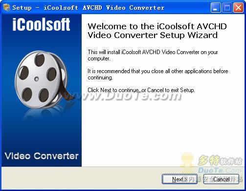 iCoolsoft AVCHD Video Converter下载
