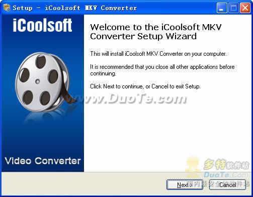 iCoolsoft MKV Converter下载