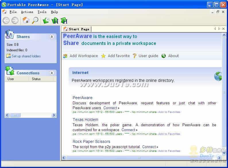 PeerAware Portable下载