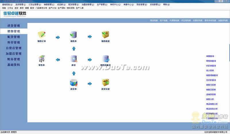 佳易卓越服装管理软件E-7000下载