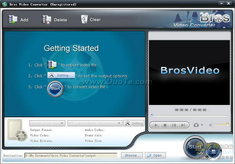 Bros Video Converter下载