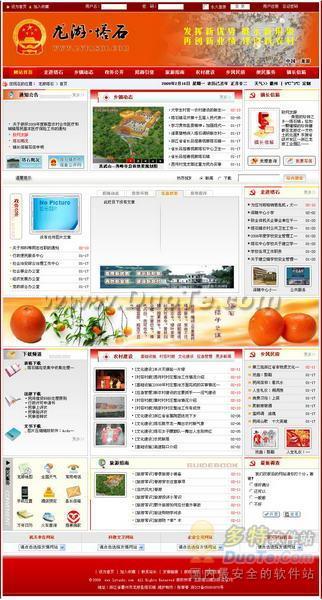 龙游塔石镇政府模板下载