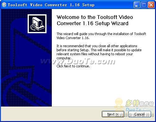 Toolsoft Video Converter视频转换器下载
