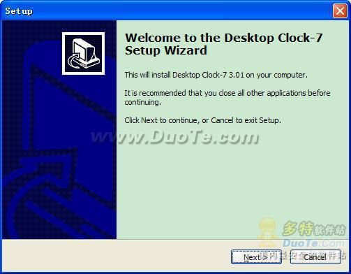 Desktop Clock 7下载