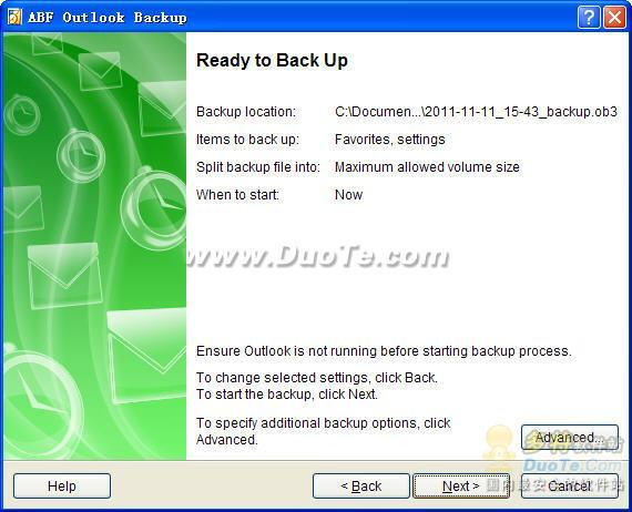 ABF Outlook Backup下载
