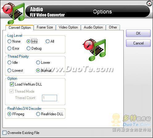 Abdio FLV Video Converter下载
