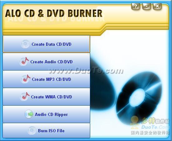 ALO CD & DVD Burner下载