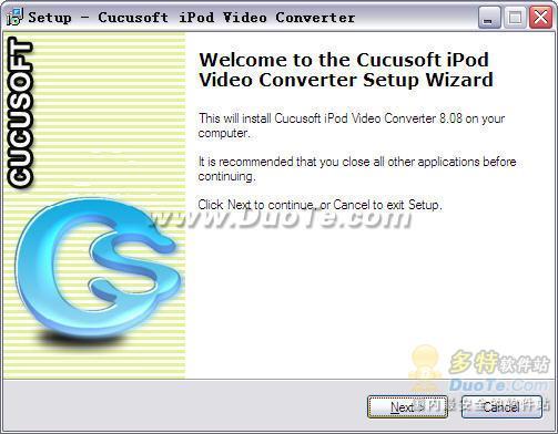 Cucusoft iPod Video Converter下载