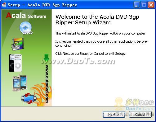 Acala DVD 3gp Ripper下载