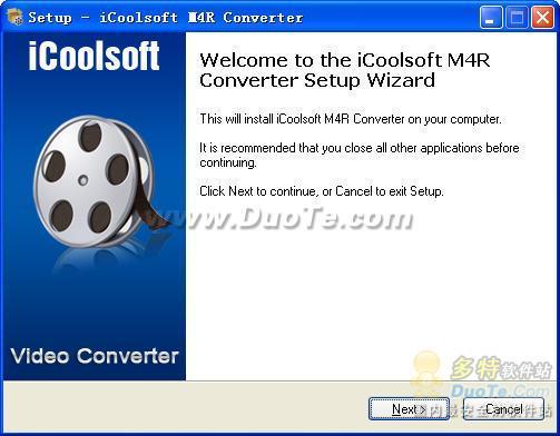 iCoolsoft M4R Converter下载