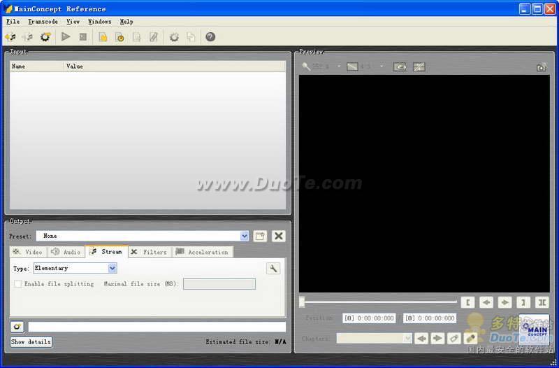 MainConcept MPEG Encoder下载