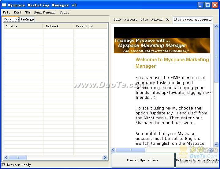 Myspace Marketing Manager下载