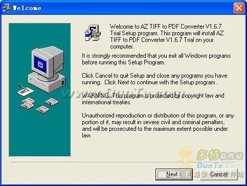 AZ TIFF to PDF Converter下载