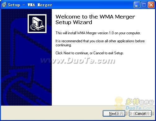 WMA Merger下载