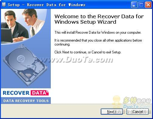 Recovery Data for Windows下载
