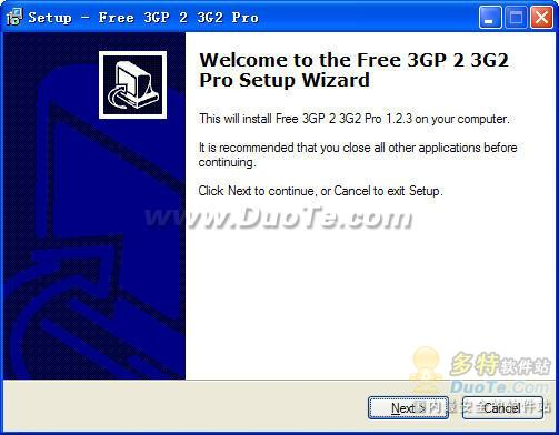 Free 3GP 2 3G2 Pro下载