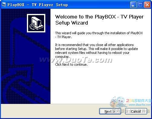 PlayBOX TV Player下载