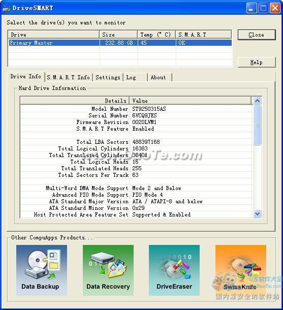 CompuApps DriveSMART下载