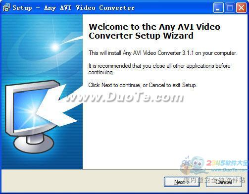 Any AVI Video Converter下载