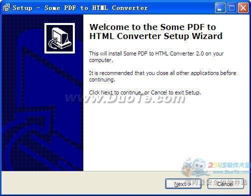 Some PDF to Html Converter下载