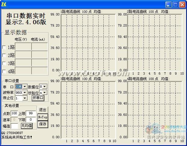 串口数据采集器数据实时显示下载