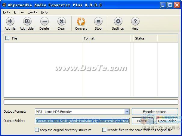 Abyssmedia Audio Converter Plus下载