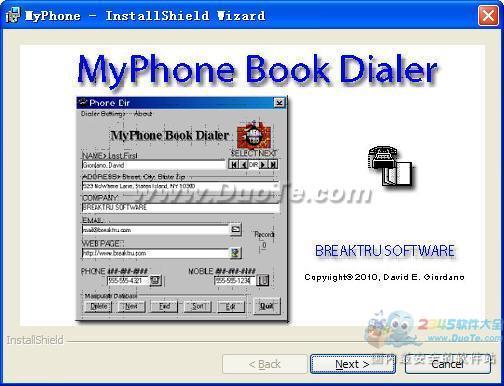 MyPhone Book Dialer下载