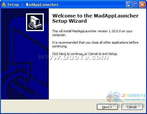 MadAppLauncher (快捷键启动程序)下载