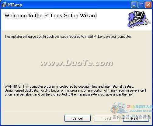 图片变形特效软件(PTLens)下载