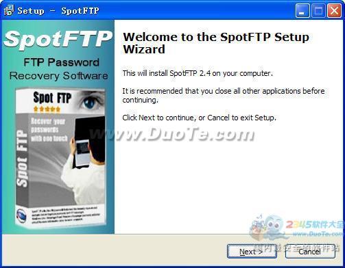 SpotFTP (FTP密码恢复工具)下载