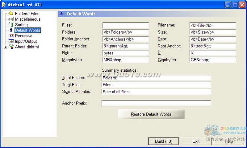 Dirhtml(网页制作工具)下载