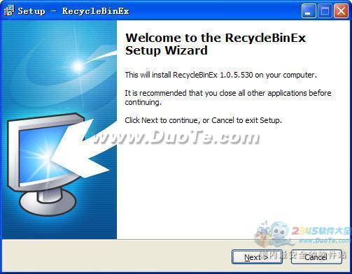 RecycleBinex (回收站增强软件)下载