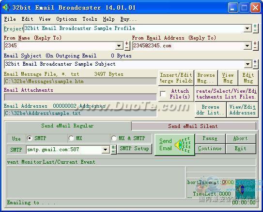Email Broadcaster(电邮广播器)下载