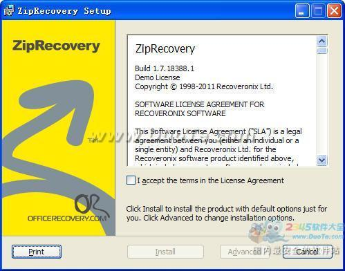 ZipRecovery (zip修复工具)下载