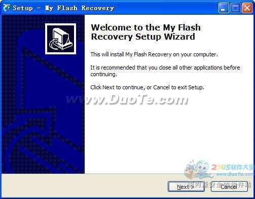 My Flash Recovery(u盘/闪存数据恢复)下载