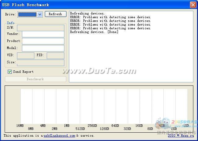 USB Flash Benchmark(U盘读写速度测试工具)下载