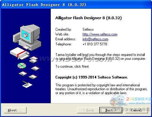 Alligator Flash Designer下载