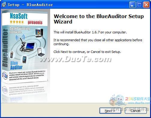 BlueAuditor(无线局域网审核)下载