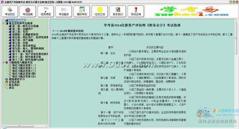注册资产评估师考试-财务会计通关宝典(重点总结+习题集)下载