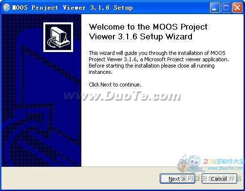 MOOS Project Viewer (Project查看器)下载