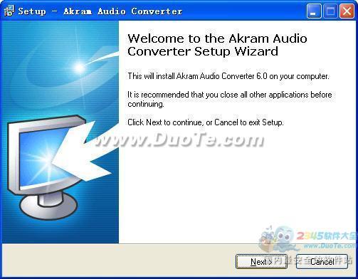 AKRAM Audio Converter 2009(音频格式转换)下载
