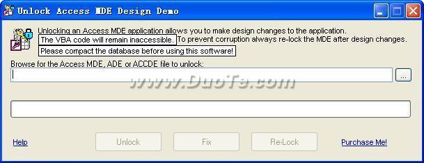Unlock Access MDE Design下载