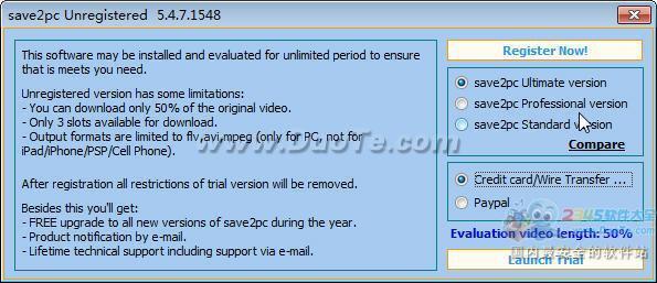 save2pc Ultimate(网络视频保存)下载